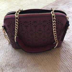 Francesca's plum purse